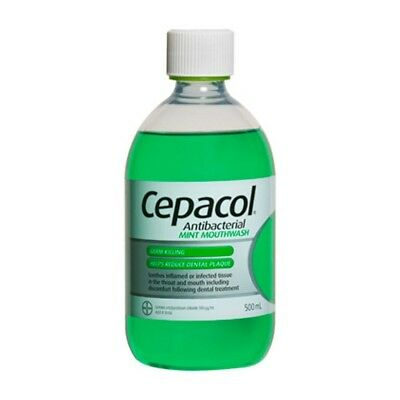 Cepacol Antibacterial Mint Germ Killing Mouthwash 500ml