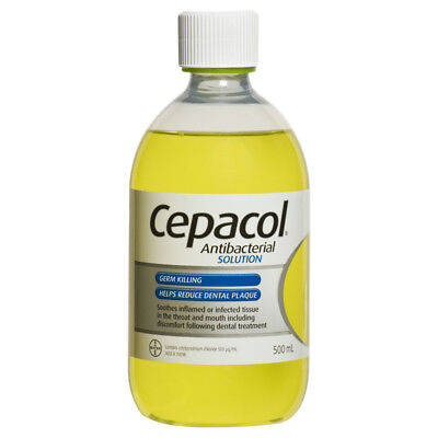 Cepacol Antibacterial Original Germ Killing Mouthwash 500ml