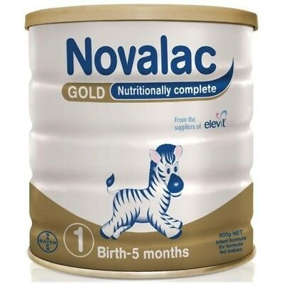 Novalac Gold Birth to 5 months Stage 1 Nutritionally Complete Infant Formula