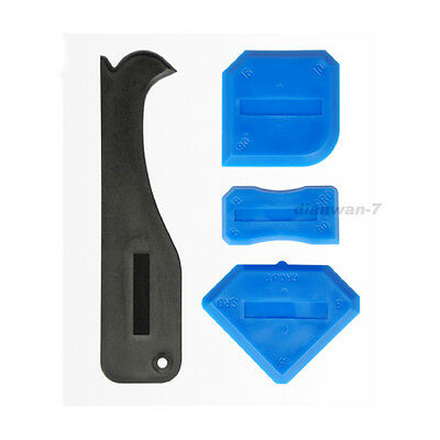 Silicone Sealant Grout Spreader Profile Applicator Tile Tool;SET OF 4