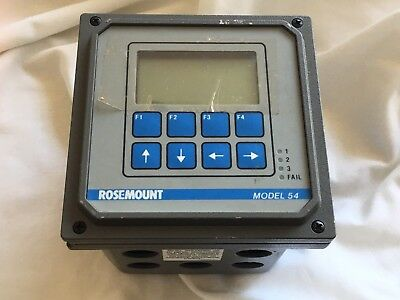 Rosemount Analytical Conductivity Microprocessor Model 54 pH/OR Controller