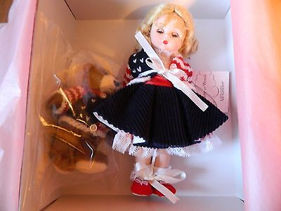 """Madame Alexander Doll All American Wendy #35600 NEW Mint in Box 8"""" Doll"""