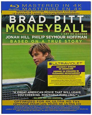Money Ball Blu-ray Mastered in 4K Region Free Brand New With Slipcover