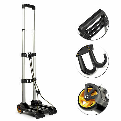 Bags Folding Luggage Cart Shopping Trolleys Collapsible Wheels Portable Trolleys