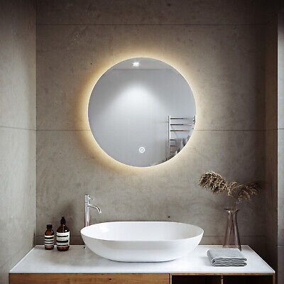 600X600mm LED Illuminated Mirror Touch Switch Wall mounted Bathroom Must-have