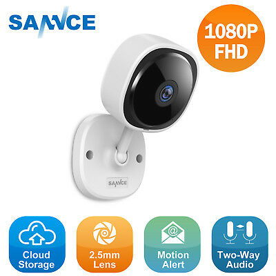 SANNCE Wireless 1080P 2MP Voice Recording In/ Outdoor Security IP Camera H.264