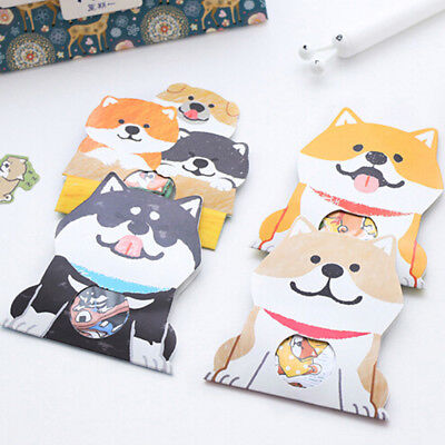 1 Pack/30 Pcs Cute Dog Stickers Creative DIY Diary Stationery Decoration Sticker