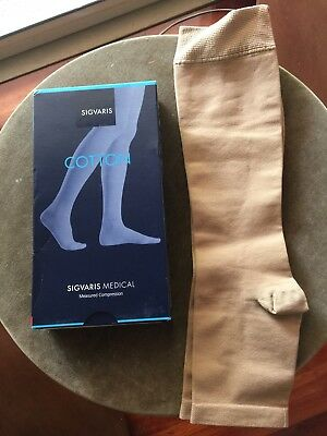 Sigvaris compression stockings  size M Long open toe Seller Away