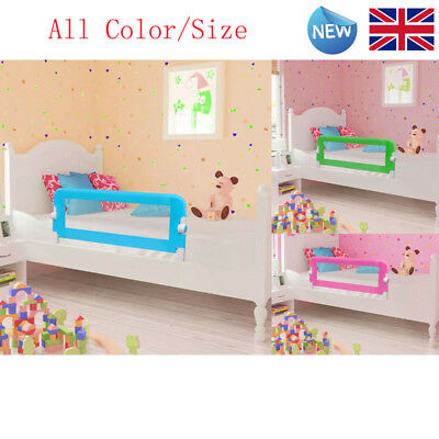 Bed Guard Toddler Safety Childs Bedguard Baby Folding Mesh Rail All Color Size