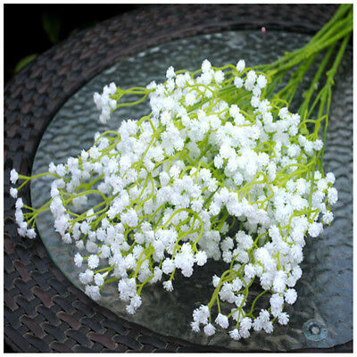Artificial Gypsophila Plastic Flowers Plant Hotel Party Home Wedding Decorations