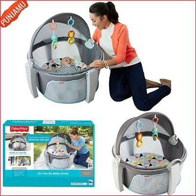 Fisher Price On The Go Indoor Outdoor Playpen Kids Portable Baby Dome White new