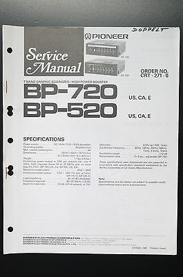 Pioneer service manualbp 320 booster amplifierampcar unit pioneer bp 720bp 520 original service manualservice manualwiring cheapraybanclubmaster Image collections