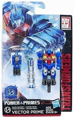 Transformers Power of the Primes Master Class Vector Prime Metalhawk NEW