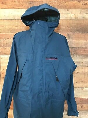 LL BEAN Men's GORE TEX All Conditions Hoodie Jacket Size Large Tall