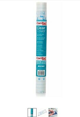 Con-Tact Brand Clear Adhesive Protective Liner Covering for Books and Documents,