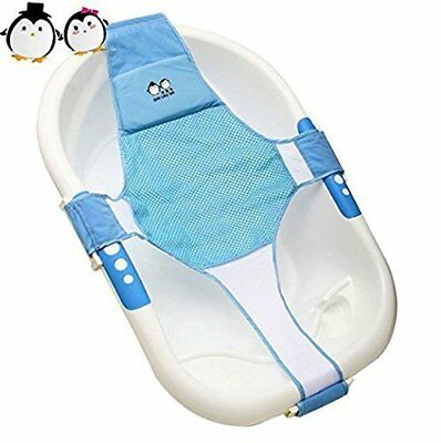 StillCool Newborn Baby Bath Seat Support Net Bathtub Sling Shower Mesh Bathing