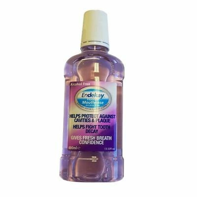 Endekay Fluoride Mouthrinse Alcohol Free 400ml 1 2 3 6 12 Packs