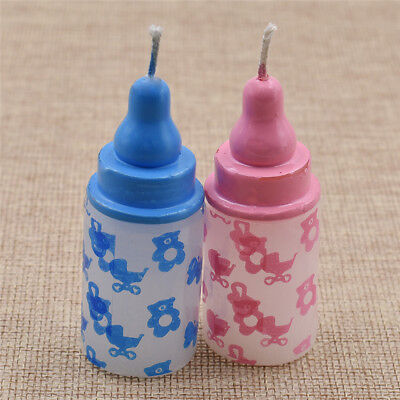 1x Bottle Baby Candle BABY SHOWER Milk Bottle CANDLE Party Decoration Supplies