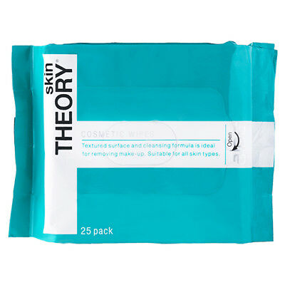 NEW Skin Theory Facial Wipes Pack Cosmetic Wipes 25 Pack Skin Care
