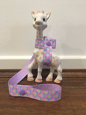 Sophie The Giraffe's Harness Toy/ Drink/ Leash/ strap /saver-