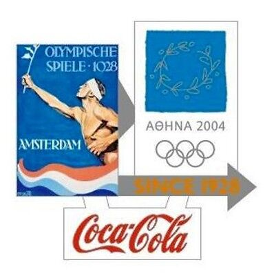 1928 Amsterdam - Athens 2004 Coca Cola Olympic Pin