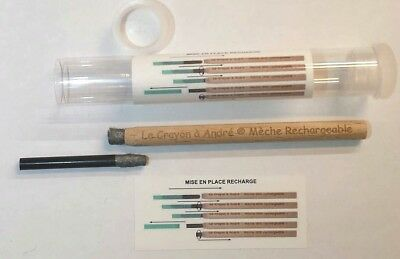 Refillable Brush Pencil - Andre's Pencils - Coins and Relics cleaning tool