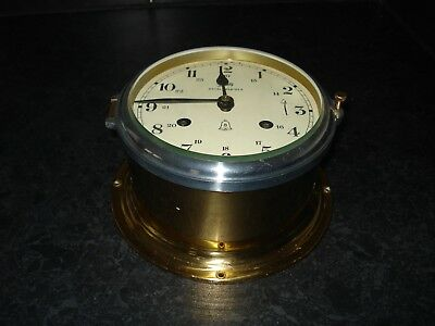 Schatz Royal Mariner  8 Bells Ships Clock