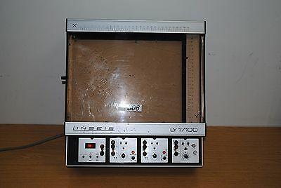 Linseis Flatbed Chart Plotter Recorder Ly 17100