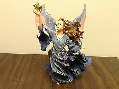Boyds Collection Charming Angel Aurora Guardian of Dreams Figurine #28215 NICE!