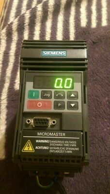 Siemens Micromaster 6SE9212-8BA40,  MICROMASTER 3rd Generation