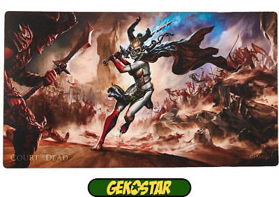Court of the Dead Play Mat - Death's Valkyrie