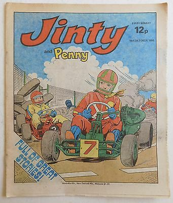 JINTY & PENNY Comic - 18th October 1980