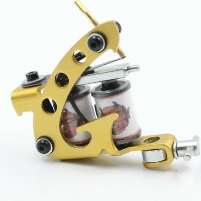 Tattoo Machine Gun Liner Shader Rotary New Coils Wrap Supply Motor Alloy Pro New