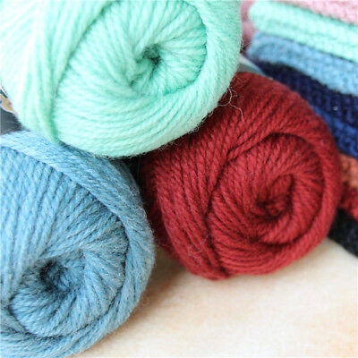 Sale 100g Natural Crochet yak wool cashmere Cotton Hand Knitted Chunky 3ply Yarn