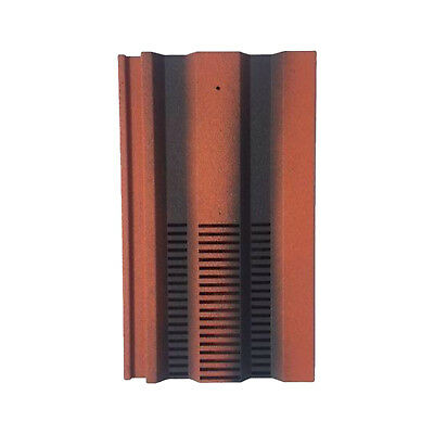 Roof Tile Vent To Fit Redland 49, Marley Ludlow Plus | Farmhouse Red Granular