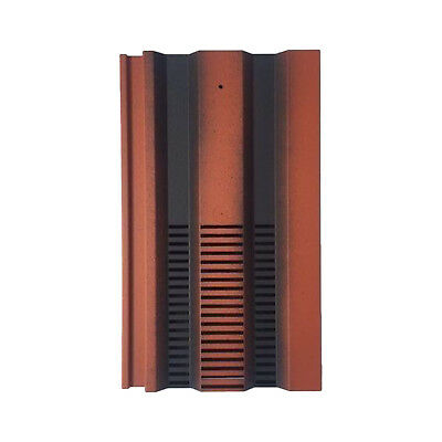 Roof Tile Vent To Fit Redland 49, Marley Ludlow Plus | Farmhouse Red Smooth