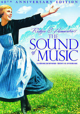 The Sound of Music (DVD, 2005, 2-Disc Set, 40th Anniversary Edition Bilingual)