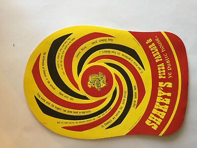 Shakey's Pizza Parlor paper hat vintage 1970s
