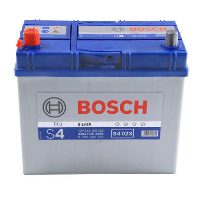S4023 S4 159 Car Battery 4 Years Warranty 45Ah 330cca 12V Electrical By Bosch