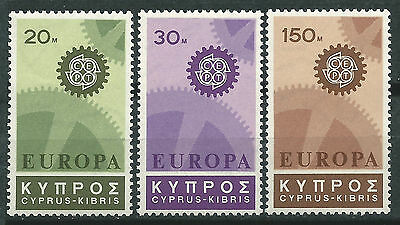 Cyprus Cyprus EUROPE cept 1967 Without Fijasellos MNH