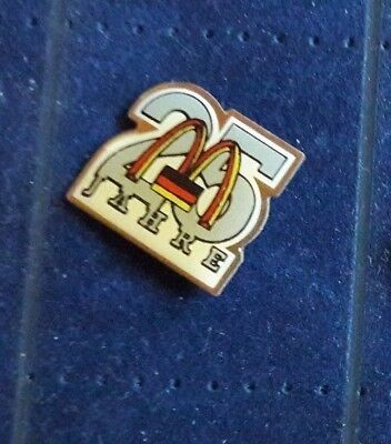Original Mcdonald Mc donald MCD PIN Badge - Mc 25 Jahre Germany  / Mc Donald