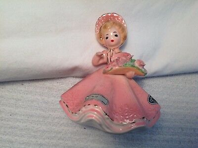 """Josef Originals 'May' Birthday Girl From The """"Doll Of The Month"""" Series-3 Labels"""
