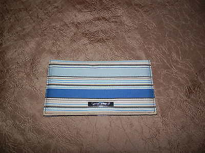 Longerberger fabric checkbook cover,new