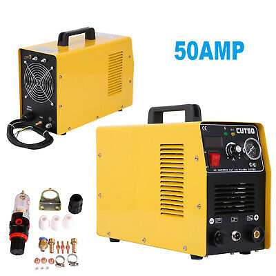 CUT50 Air Plasma Cutter 50AMP Digital Inverter Welder Cutting Portable 110V/60Hz