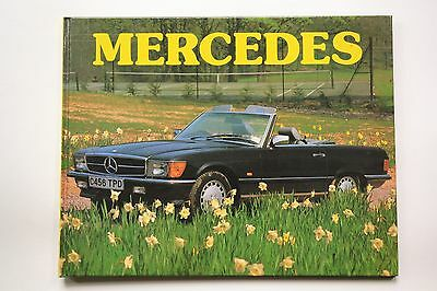 Vintage 1988 picture book MERCEDES Exeter Books/Bookthrift color coffee table