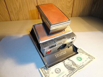 Vintage Polaroid Sx-70 Land Camera In Very Nice Condition Not Tested