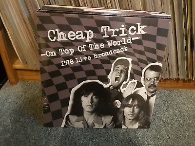 Cheap Trick  ‎– On Top Of The World - 1978 Live Broadcast (Album) (2LP)