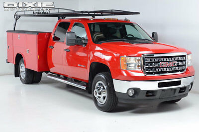 2012 GMC Sierra 3500 SLT Pack. 4x4 Carfax certified Stringfellow utilit LT Pack. 4x4 Carfax certified Stringfellow utility Bed