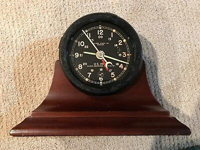 Chelsea Army Message Center Clock M1