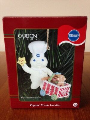 1999 Pillsbury Poppin' Fresh Goodies Ornament, Nib